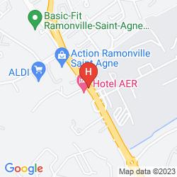 Mappa AER HÔTEL