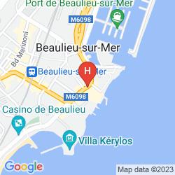 Mappa LA RÉSERVE DE BEAULIEU & SPA