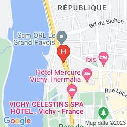 Mappa DE LA PLAGE