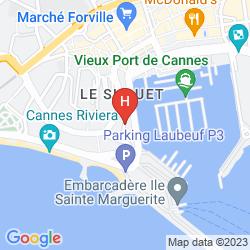 Mappa SUITE AFFAIRE CANNES VIEUX-PORT