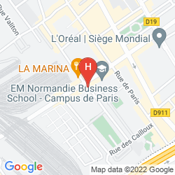 Mappa APARTHOTEL ADAGIO ACCESS PARIS CLICHY
