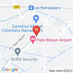 Mappa PARK WILSON AIRPORT