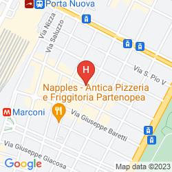 Mappa BEST WESTERN HOTEL PIEMONTESE