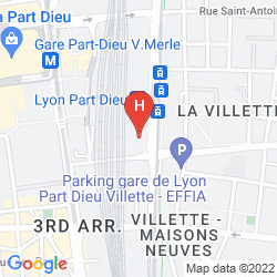Mappa MERCURE LYON LA PART DIEU