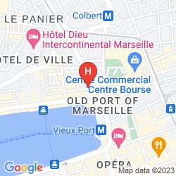 Mappa RESIDHOTEL VIEUX PORT