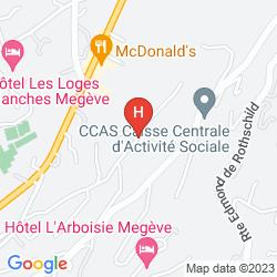 Mappa LE CHALET ZANNIER