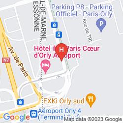 Mappa IBIS PARIS COEUR D'ORLY AIRPORT