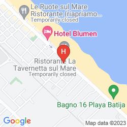 Mappa HOTEL NADIA