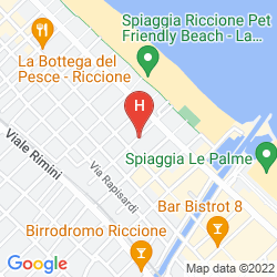 Mappa D-PLACE APARTHOTEL & SUITE