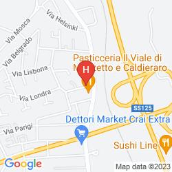 Mappa HOTEL DEMAR