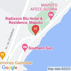 Mappa RADISSON BLU HOTEL MAPUTO