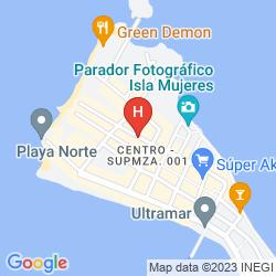 Mappa HOTEL PLAZA ALMENDROS