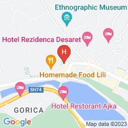 Mappa NASHO VRUHO HOTEL