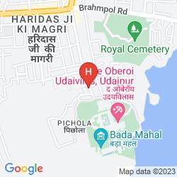 Mappa CHUNDA PALACE