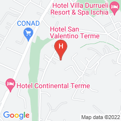 Mappa HERMITAGE & PARK TERME