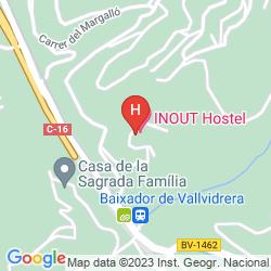 Mappa INOUT HOSTEL