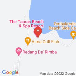 Mappa THE TAARAS BEACH AND SPA RESORT REDANG
