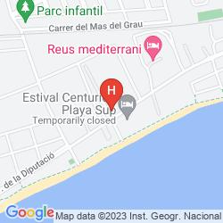 Mappa H10 CAMBRILS PLAYA