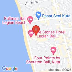 Mappa THE STONES HOTEL - LEGIAN BALI, AUTOGRAPH COLLECTION