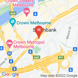 Mappa SHORT STAY APARTMENTS - SOUTHBANK COLLECTION