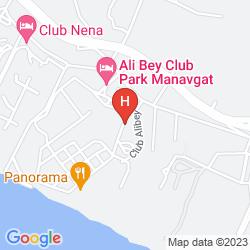 Mappa ALI BEY PARK HOTEL