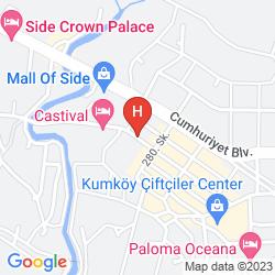 Mappa CLUB HANE