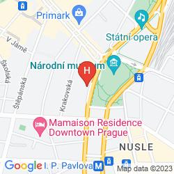 Mappa WENCESLAS SQUARE