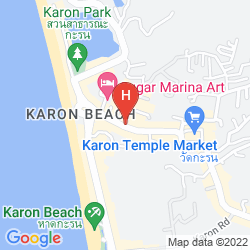 Mappa UNOTEL KARON BEACH