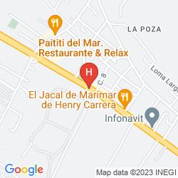 Mappa MAYAN LAKES