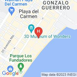 Mappa SIESTA FIESTA HOTEL