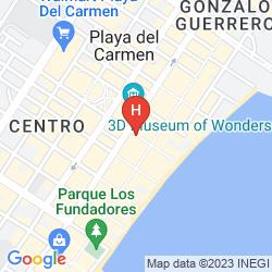 Mappa THE PALM AT PLAYA