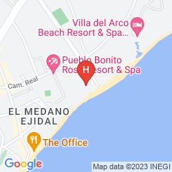 Mappa CLUB CASCADAS DE BAJA