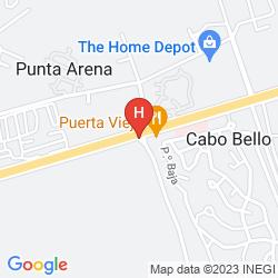 Mappa SUNROCK CONDO HOTEL