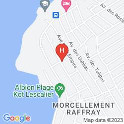 Mappa ALBATROS RESIDENCE