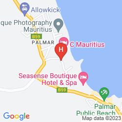 Mappa MARITIM CRYSTALS BEACH HOTEL MAURITIUS