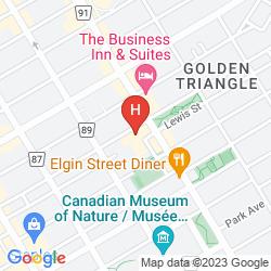 Mappa HOLIDAY INN OTTAWA DWTN - PARLIAMENT HILL