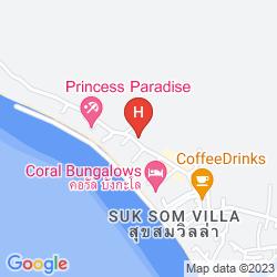 Mappa SUN BEACH BUNGALOW