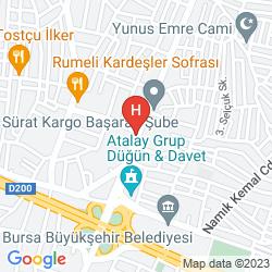 Mappa KERVANSARAY