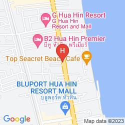 Mappa BAAN WARDDAW GUESTHOUSE