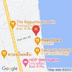 Mappa DUNE HUA HIN