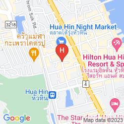 Mappa HUA HIN AVENUE