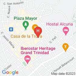 Mappa HOSTAL TRINIDAD MARIA GUADALUPE