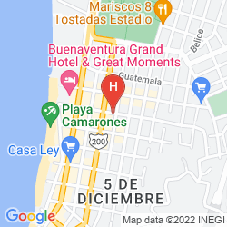 Mappa HOTEL MOCALI