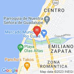 Mappa SUITES PLAZA DEL RÍO