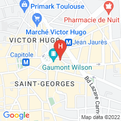 Mappa NOVOTEL TOULOUSE CENTRE WILSON