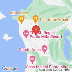 Mappa ST. REGIS PUNTA MITA RESORT