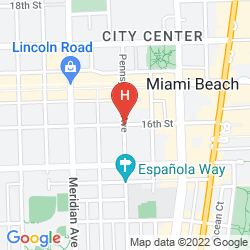 Mappa LINCOLN ROAD APARTMENTS