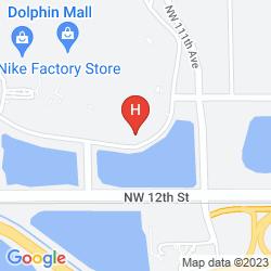 Mappa COURTYARD MIAMI AT DOLPHIN MALL