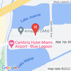 Mappa EXTENDED STAY AMERICA - MIAMI - AIRPORT - BLUE LAGOON
