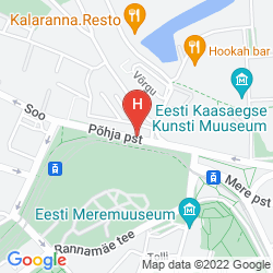 Mappa HESTIA HOTEL ILMARINE